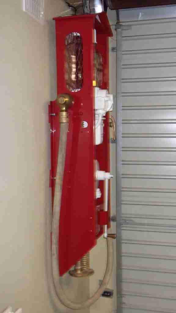 Fully Restored Shell Mk4 Vintage Petrol Pump by UK Restoration