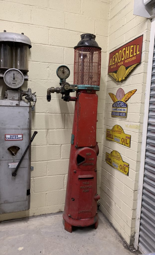 UK Restoration's Theo Multiple Petrol Pump