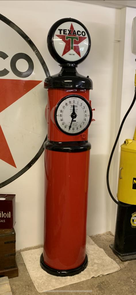 UK Restoration's Fully Restored Tokheim 850 Petrol Pump in Texaco Livery