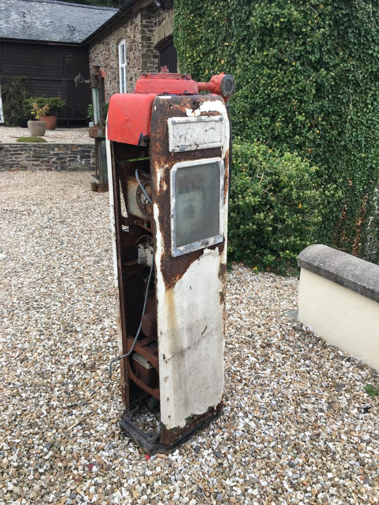 UK Restoration's Avery Hardoll Petrol Pump - Before