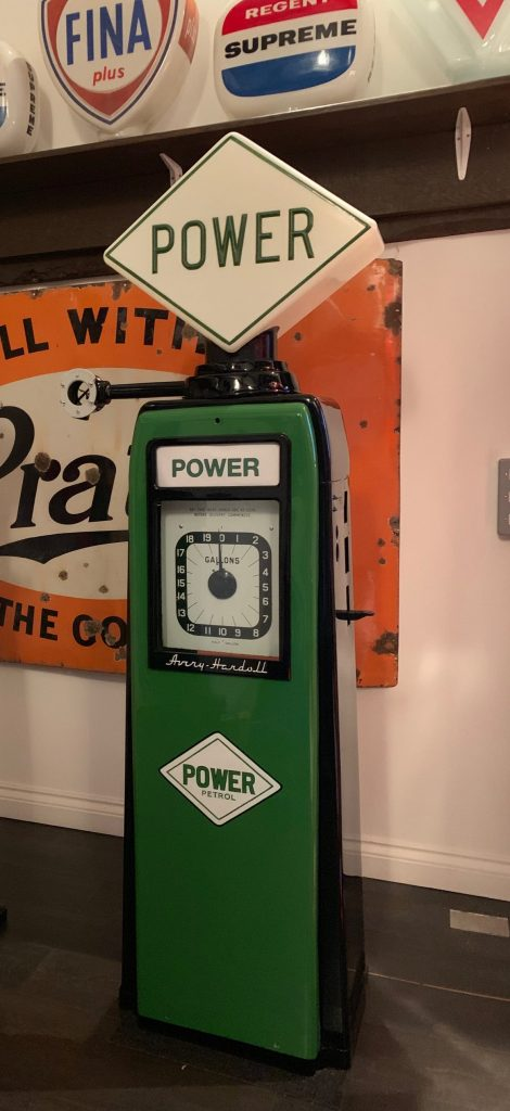 UK Restoration's Avery Hardoll Petrol Pump in Power Livery and Kismet Air Tower in Power Livery