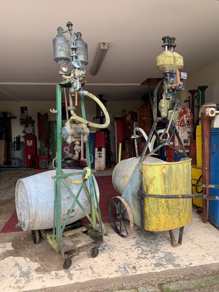 UK Restoration's Chariot Petrol Pumps