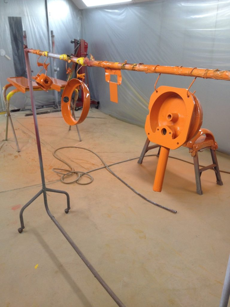 UK Restoration's Avery 101 Restored Petrol Pump in Gulf Livery4